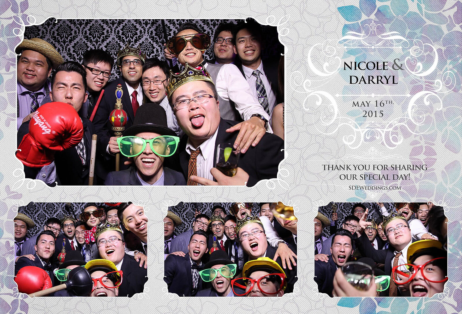 Toronto Etobicoke St. George's Country Club Chinese Wedding Photo Booth 1