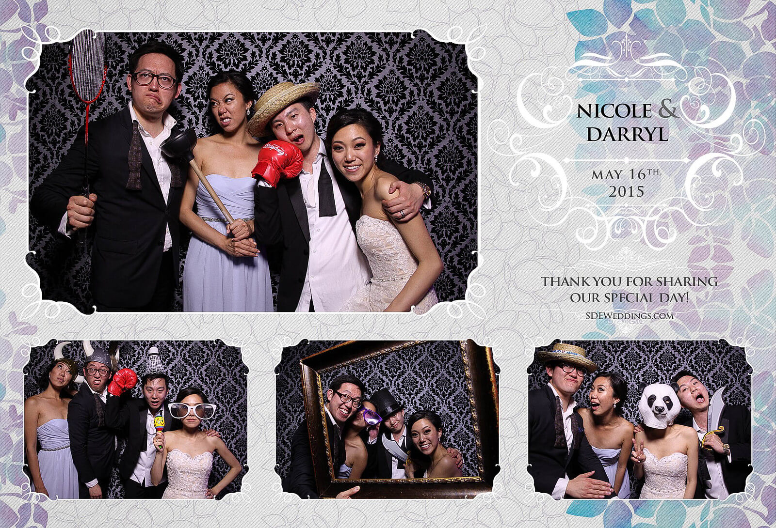 Toronto Etobicoke St. George's Country Club Chinese Wedding Photo Booth 10