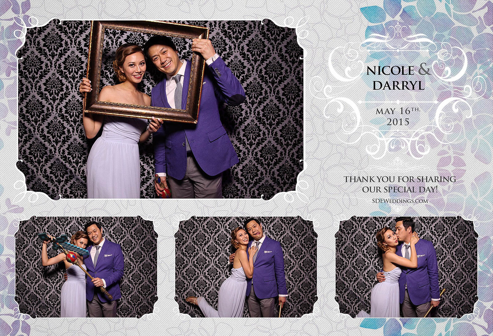 Toronto Etobicoke St. George's Country Club Chinese Wedding Photo Booth 3