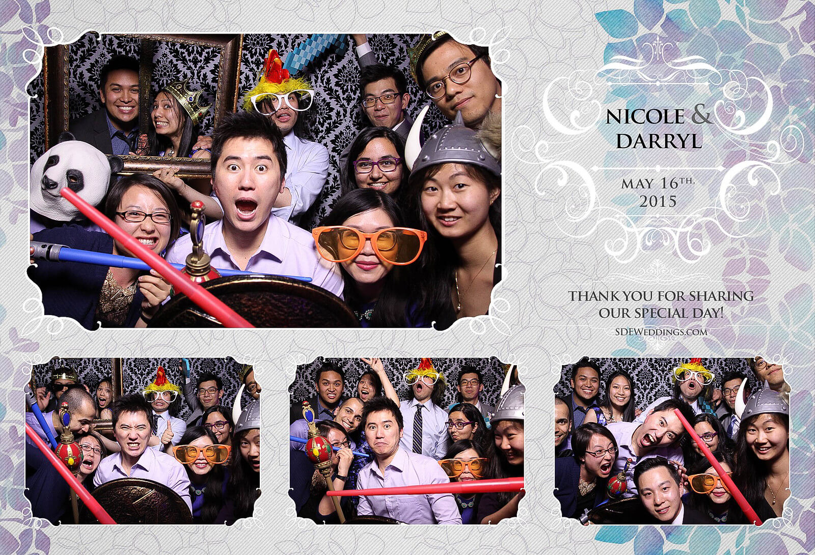 Toronto Etobicoke St. George's Country Club Chinese Wedding Photo Booth 4