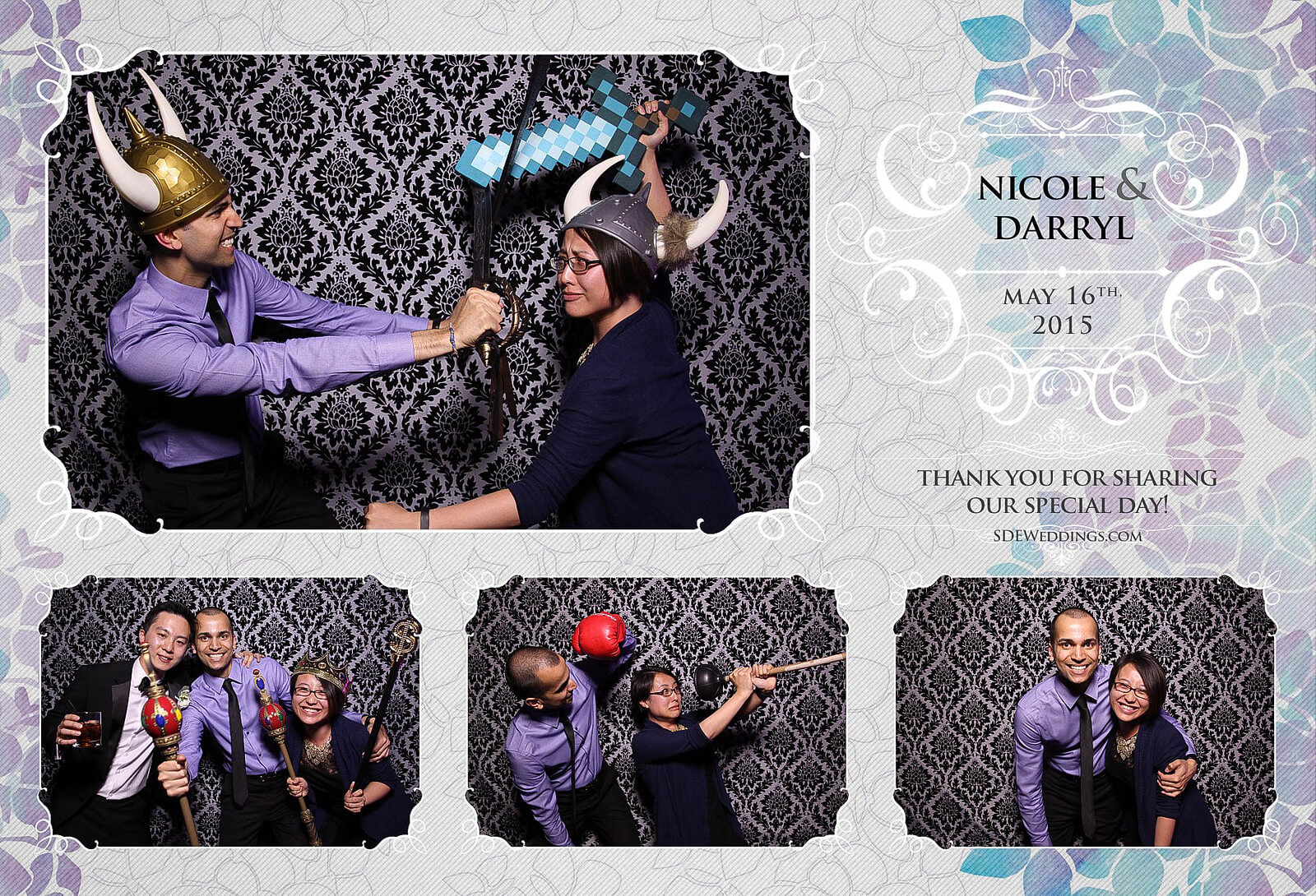 Toronto Etobicoke St. George's Country Club Chinese Wedding Photo Booth 5