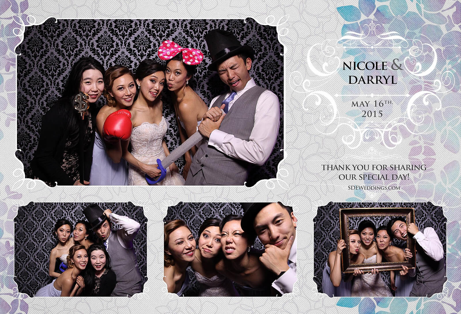 Toronto Etobicoke St. George's Country Club Chinese Wedding Photo Booth 6