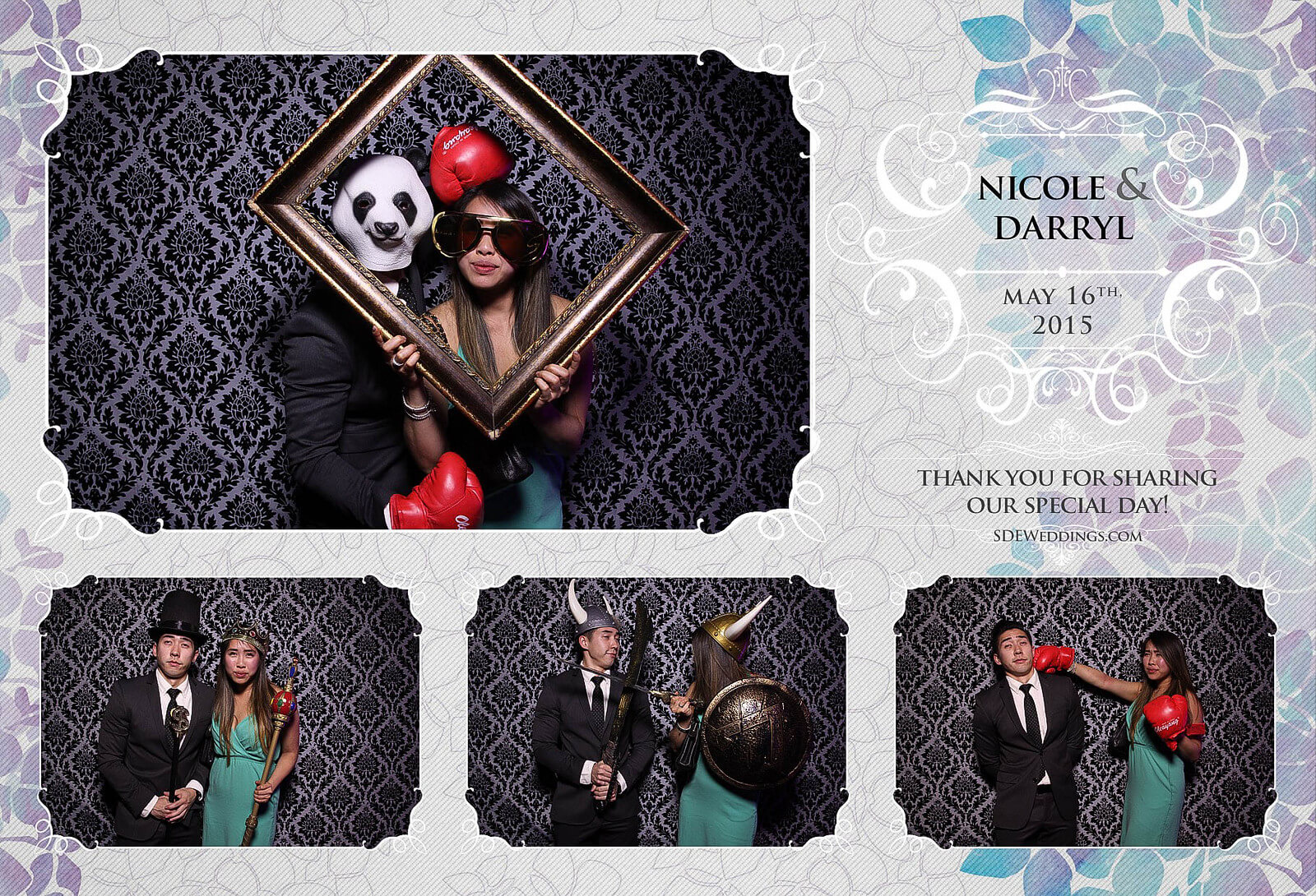 Toronto Etobicoke St. George's Country Club Chinese Wedding Photo Booth 8