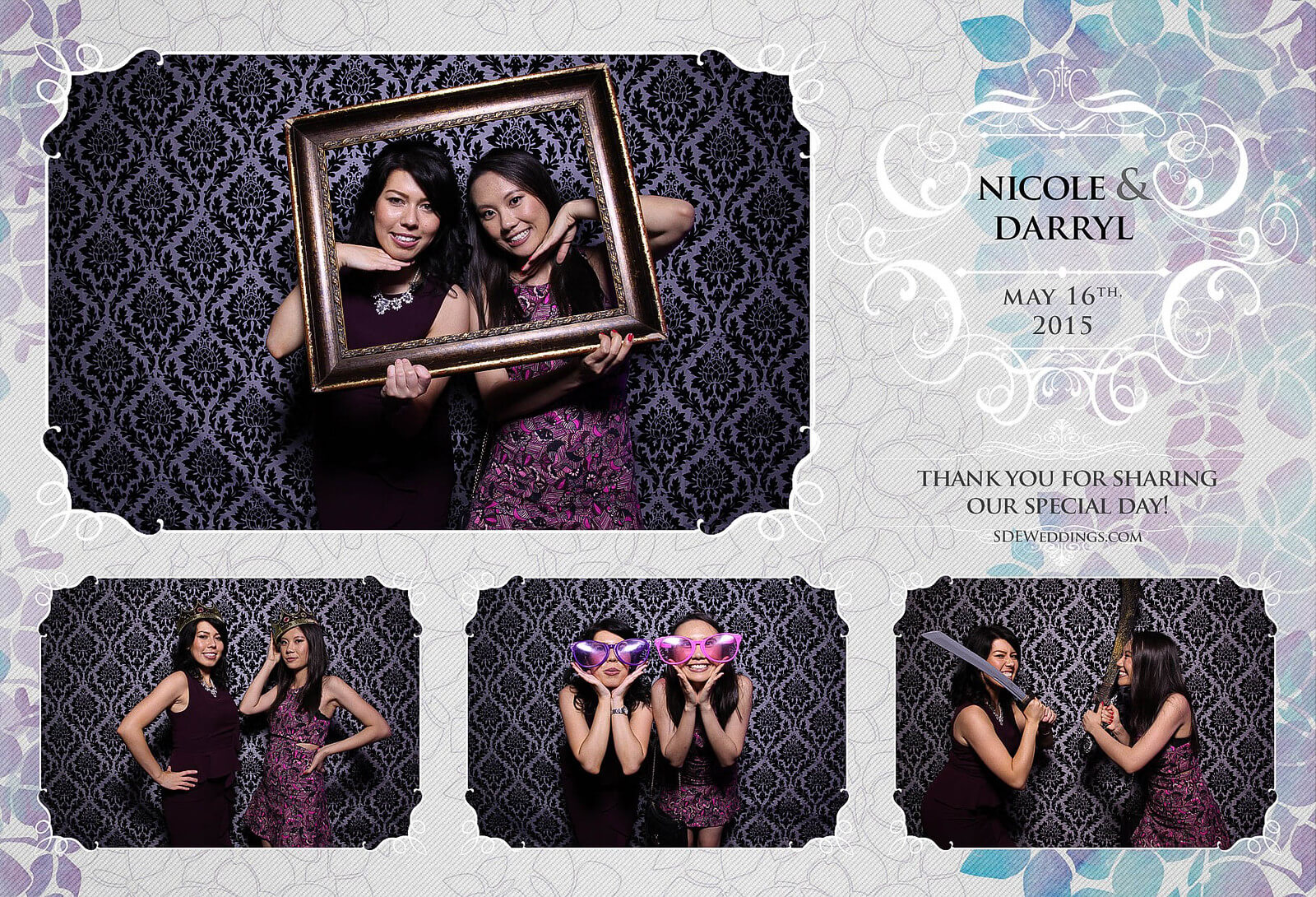 Toronto Etobicoke St. George's Country Club Chinese Wedding Photo Booth 9