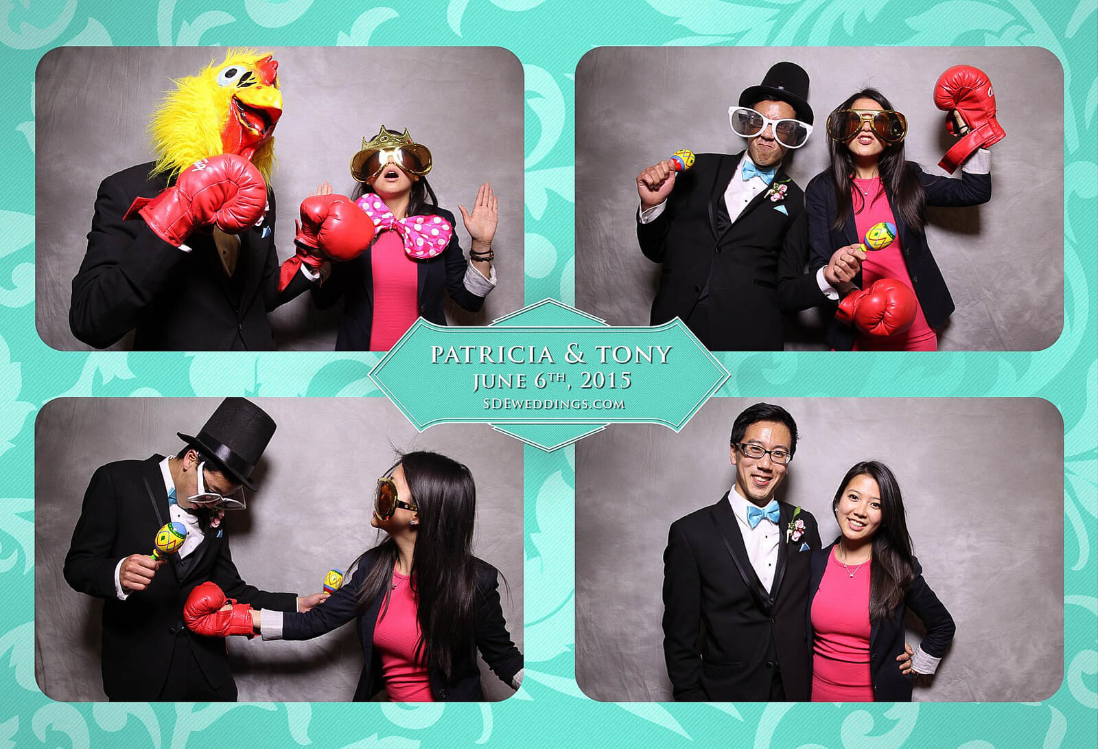 Toronto Donalda Club Chinese Wedding Photobooth Rental 3