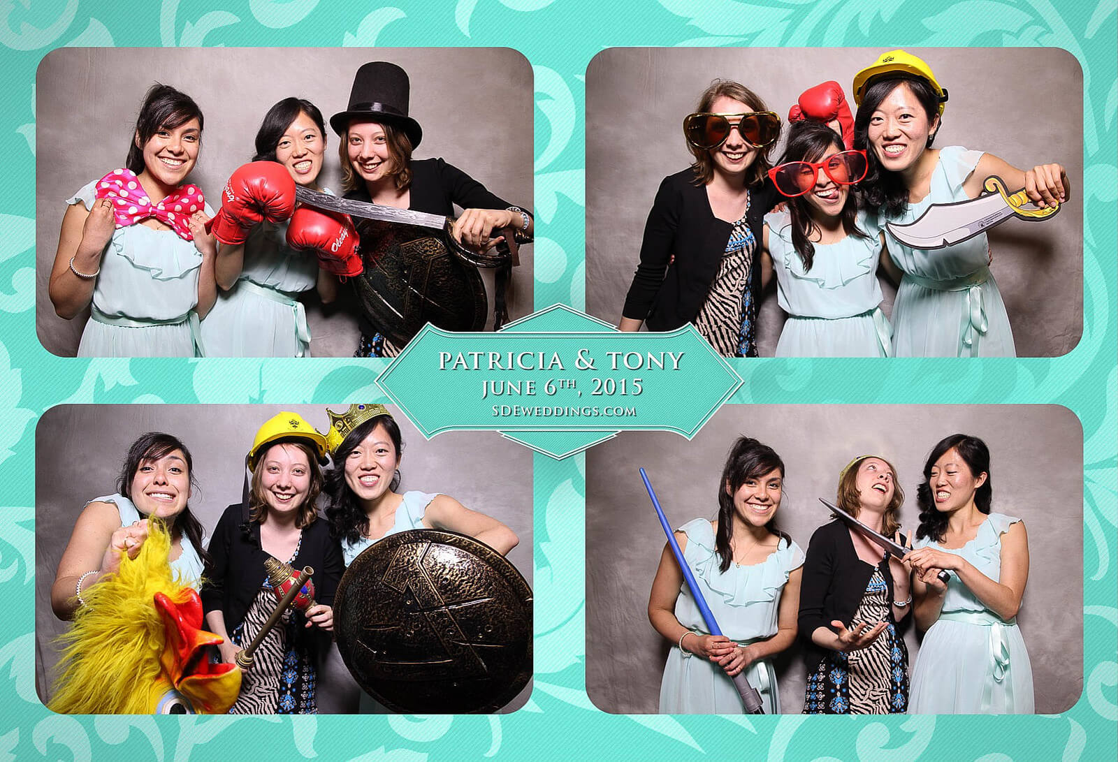 Toronto Donalda Club Chinese Wedding Photobooth Rental 4