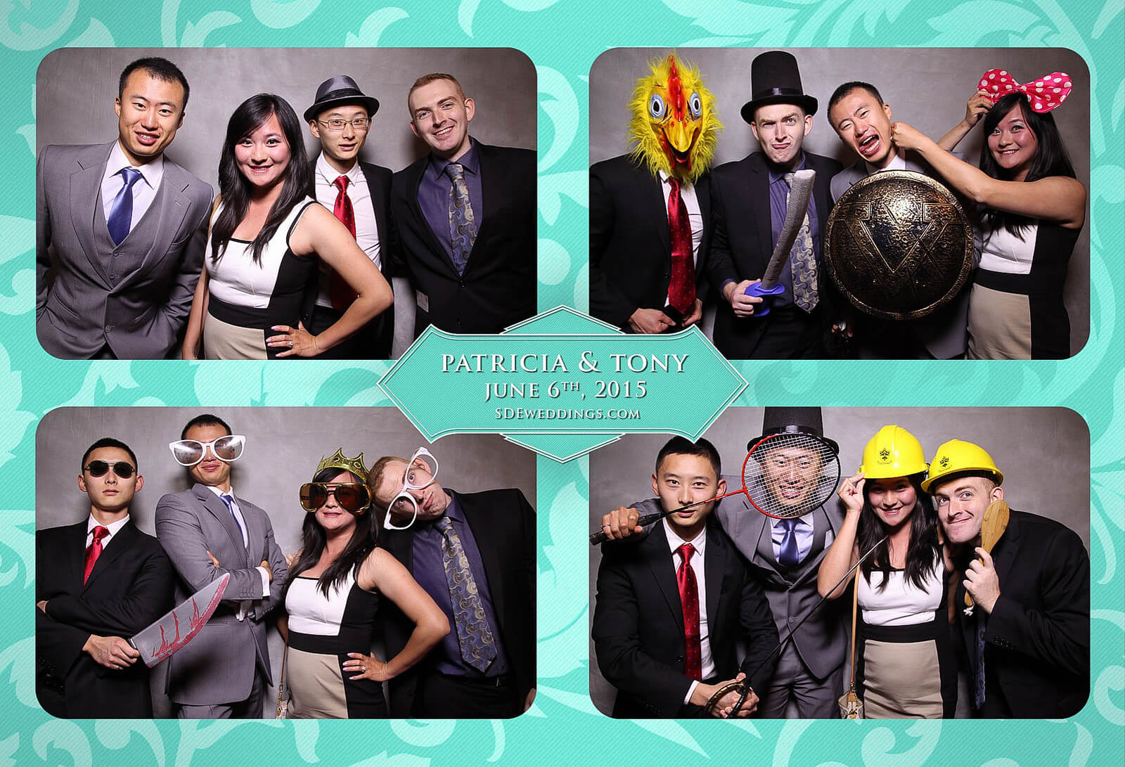 Toronto Donalda Club Chinese Wedding Photobooth Rental 5