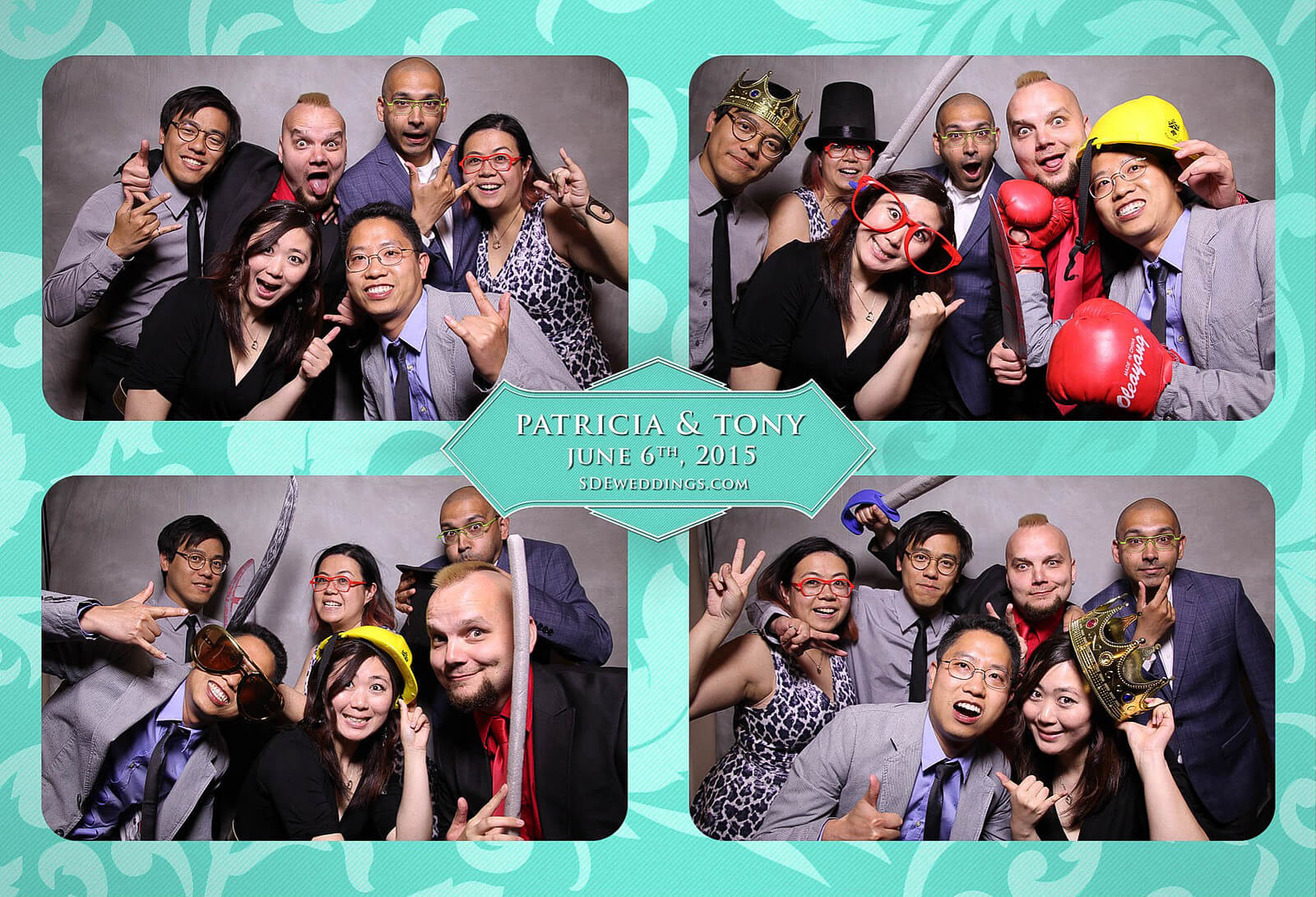 Toronto Donalda Club Chinese Wedding Photobooth Rental 7