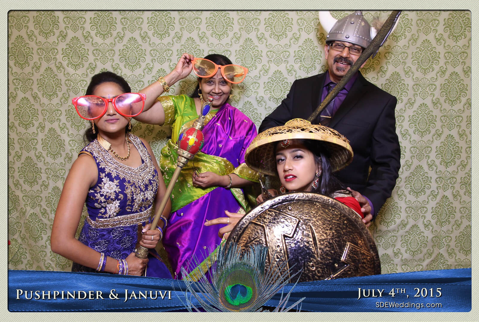 Mississauga Versailles Convention Centre South Asian Wedding Photo Booth Rental 10