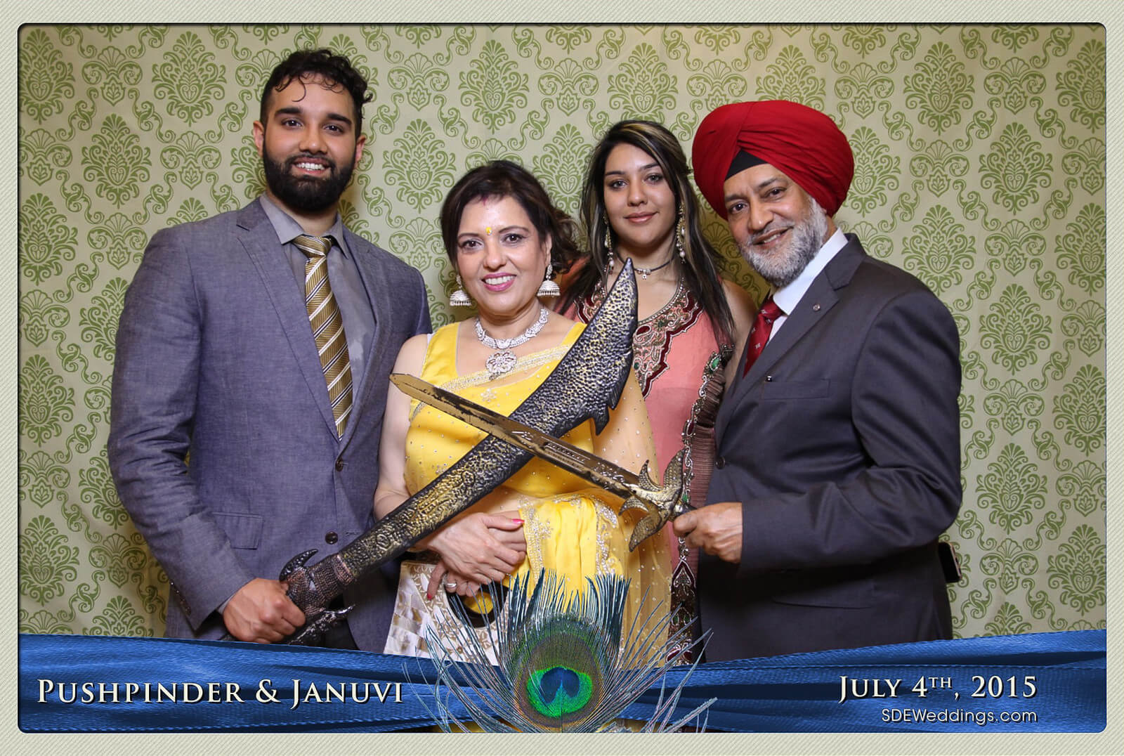 Mississauga Versailles Convention Centre South Asian Wedding Photo Booth Rental 3