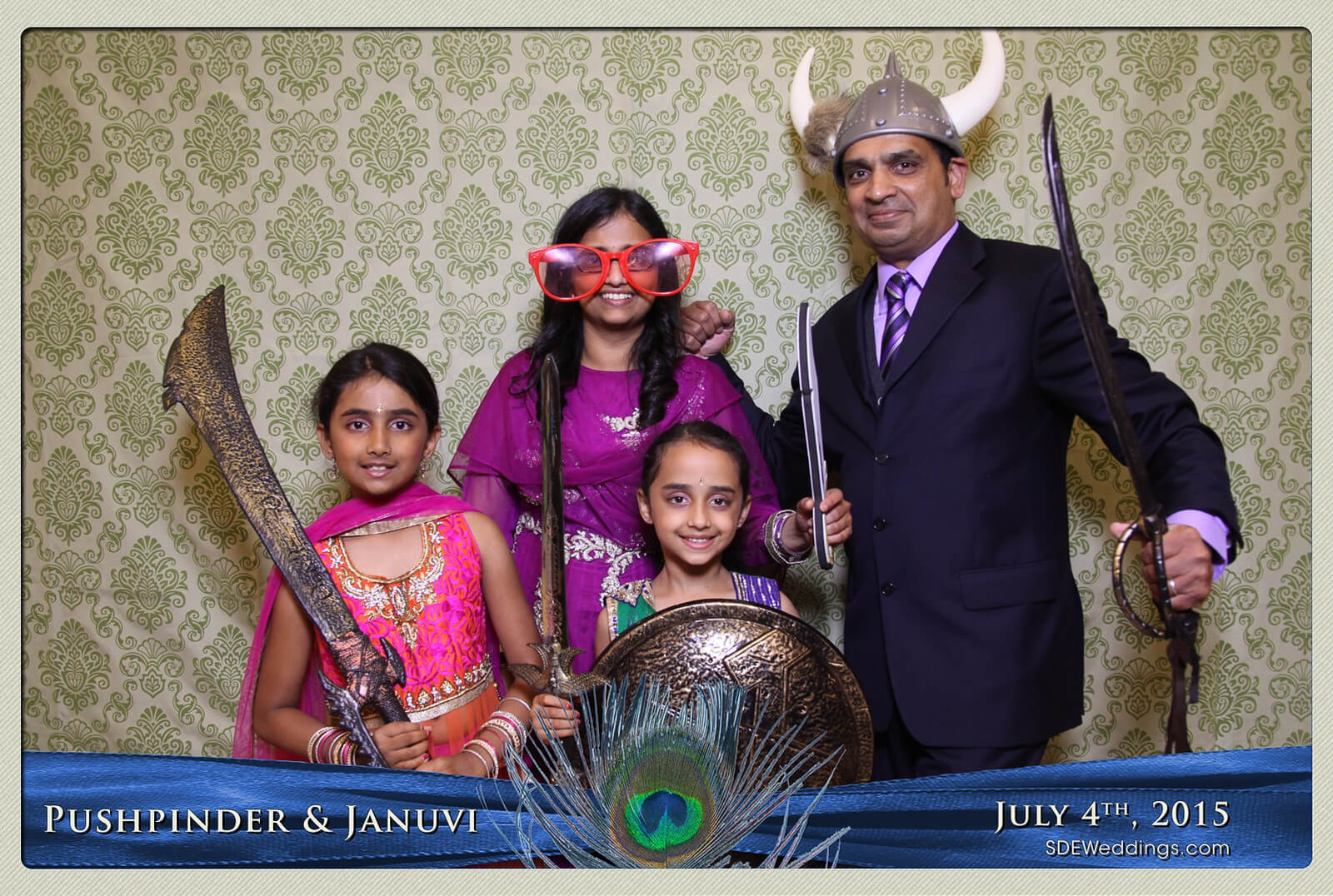 Mississauga Versailles Convention Centre South Asian Wedding Photo Booth Rental 4