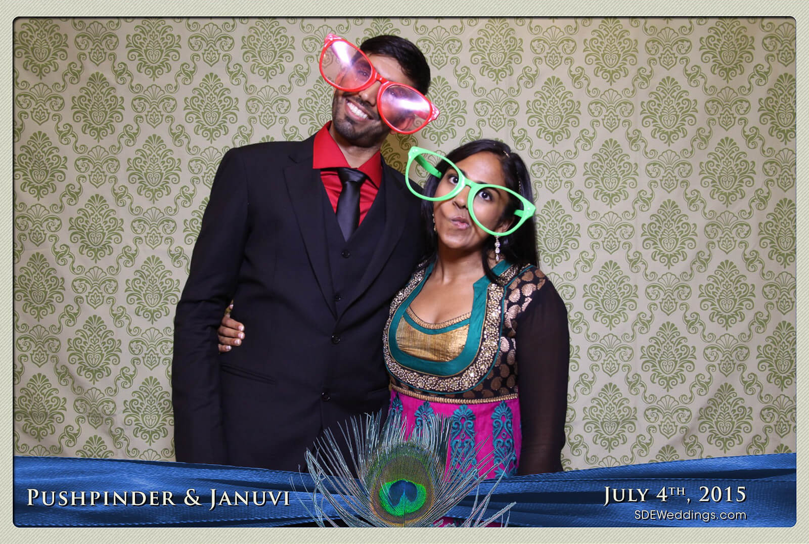 Mississauga Versailles Convention Centre South Asian Wedding Photo Booth Rental 6
