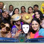 Mississauga Versailles Convention Centre South Asian Wedding Photo Booth Rental