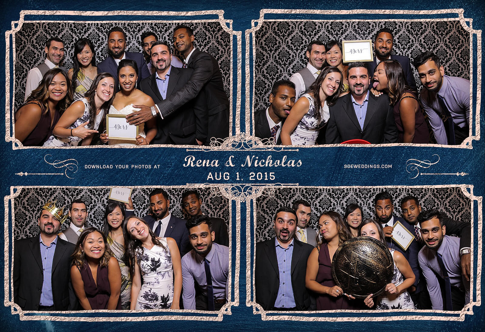 Toronto Photo Booth Rental at Old Mill Inn Wedding 2