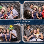 Toronto Photo Booth Rental at Old Mill Inn Wedding