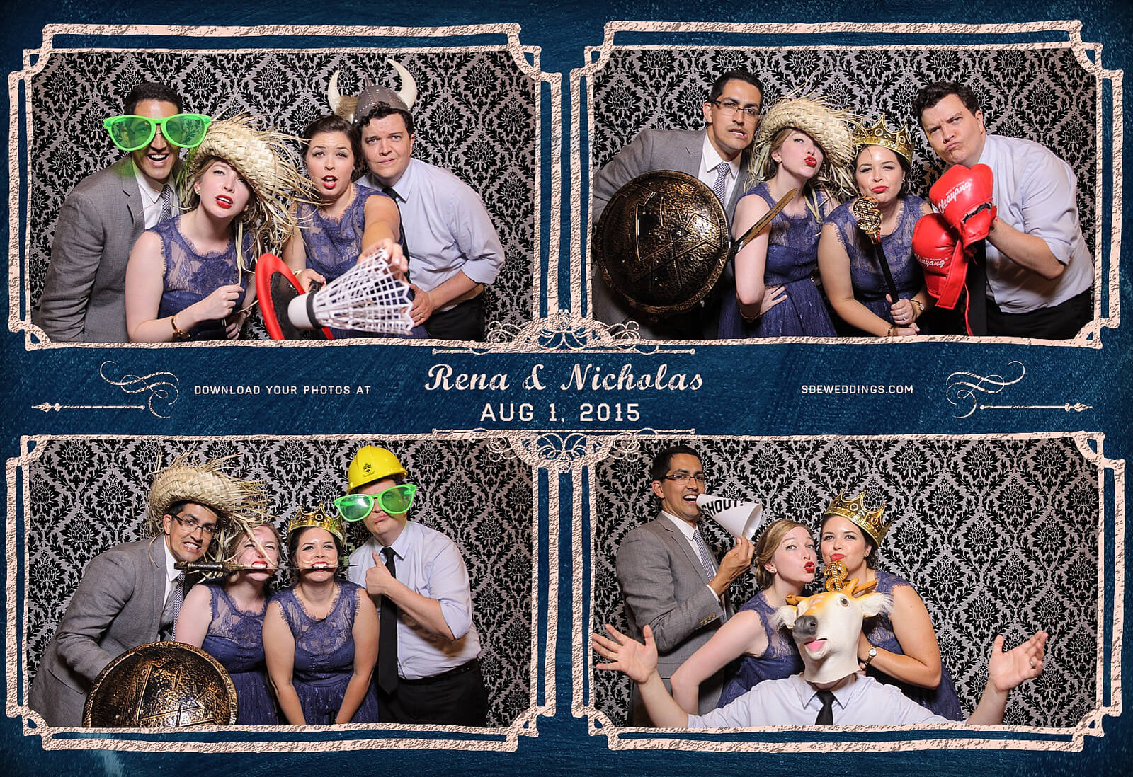 Toronto Photo Booth Rental at Old Mill Inn Wedding 3