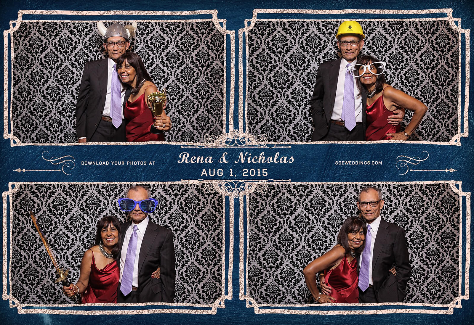 Toronto Photo Booth Rental at Old Mill Inn Wedding 8