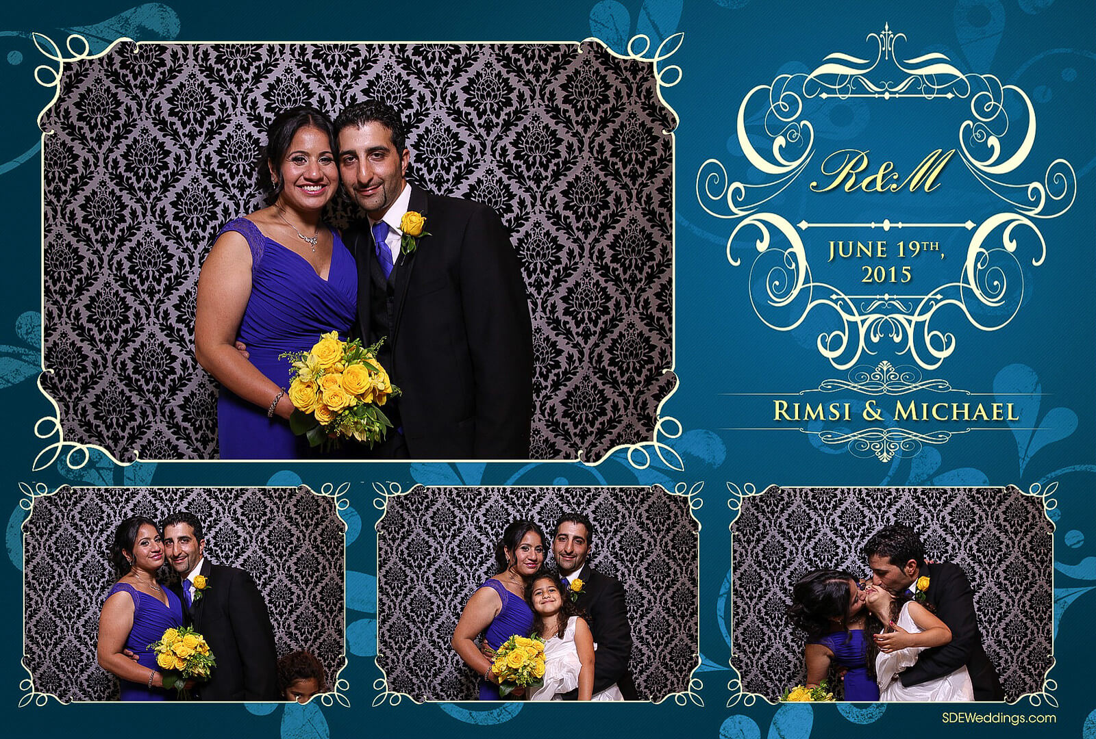 Toronto Italian Borgata Wedding Photo Booth Rental 1