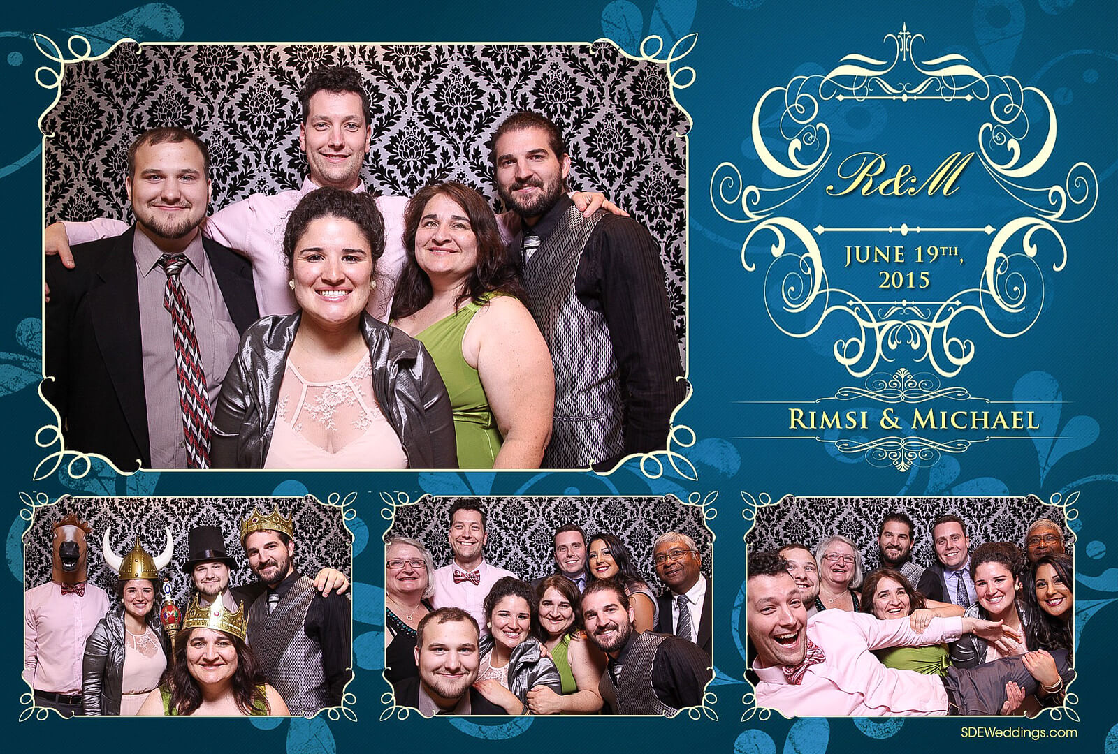 Toronto Italian Borgata Wedding Photo Booth Rental 10