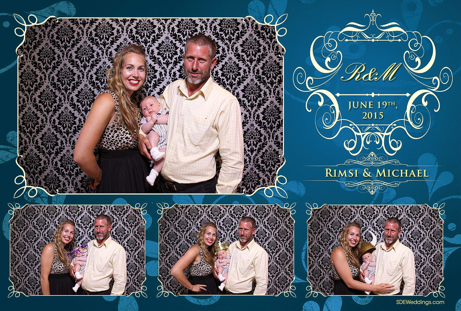Toronto Italian Borgata Wedding Photo Booth Rental 4