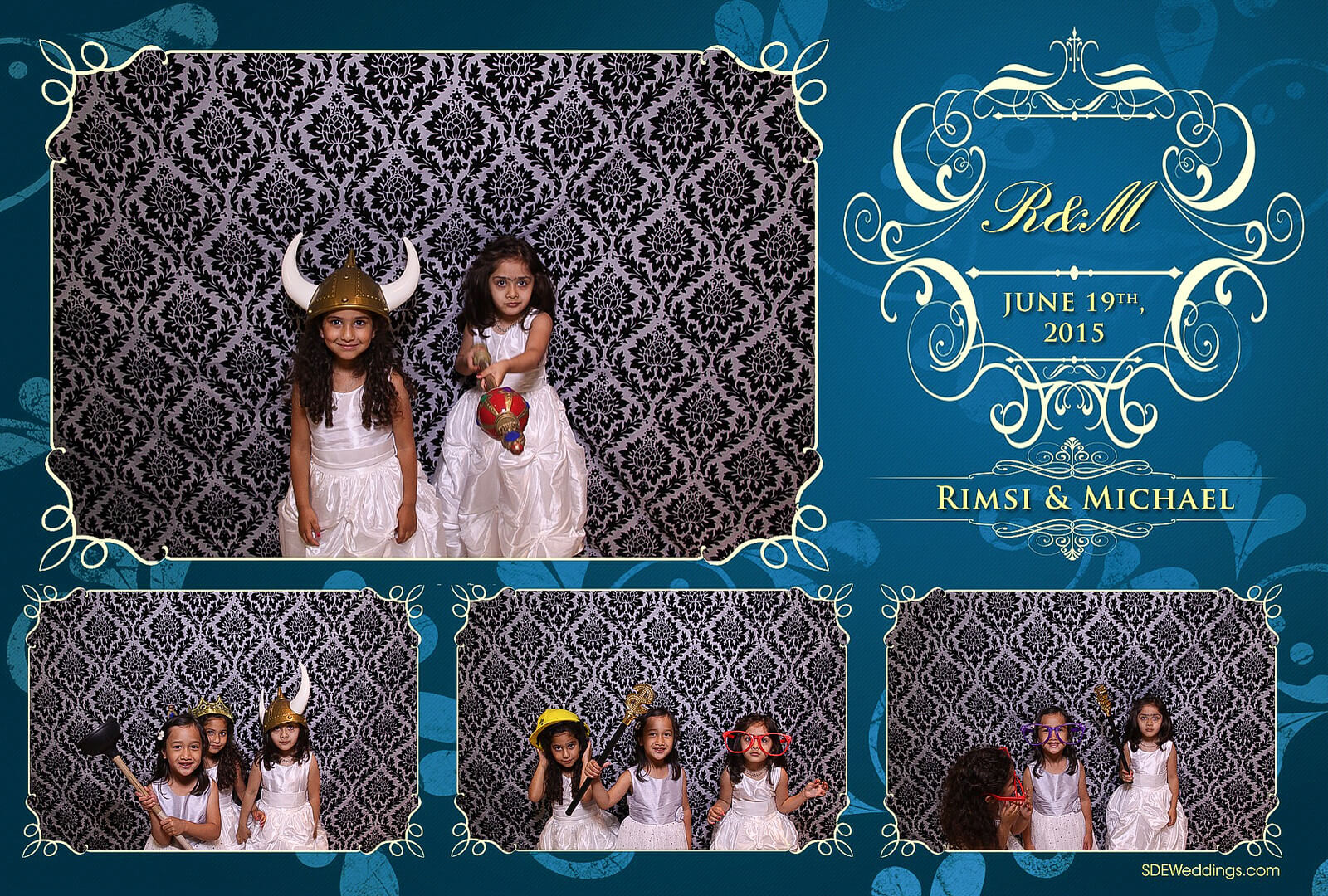 Toronto Italian Borgata Wedding Photo Booth Rental 5