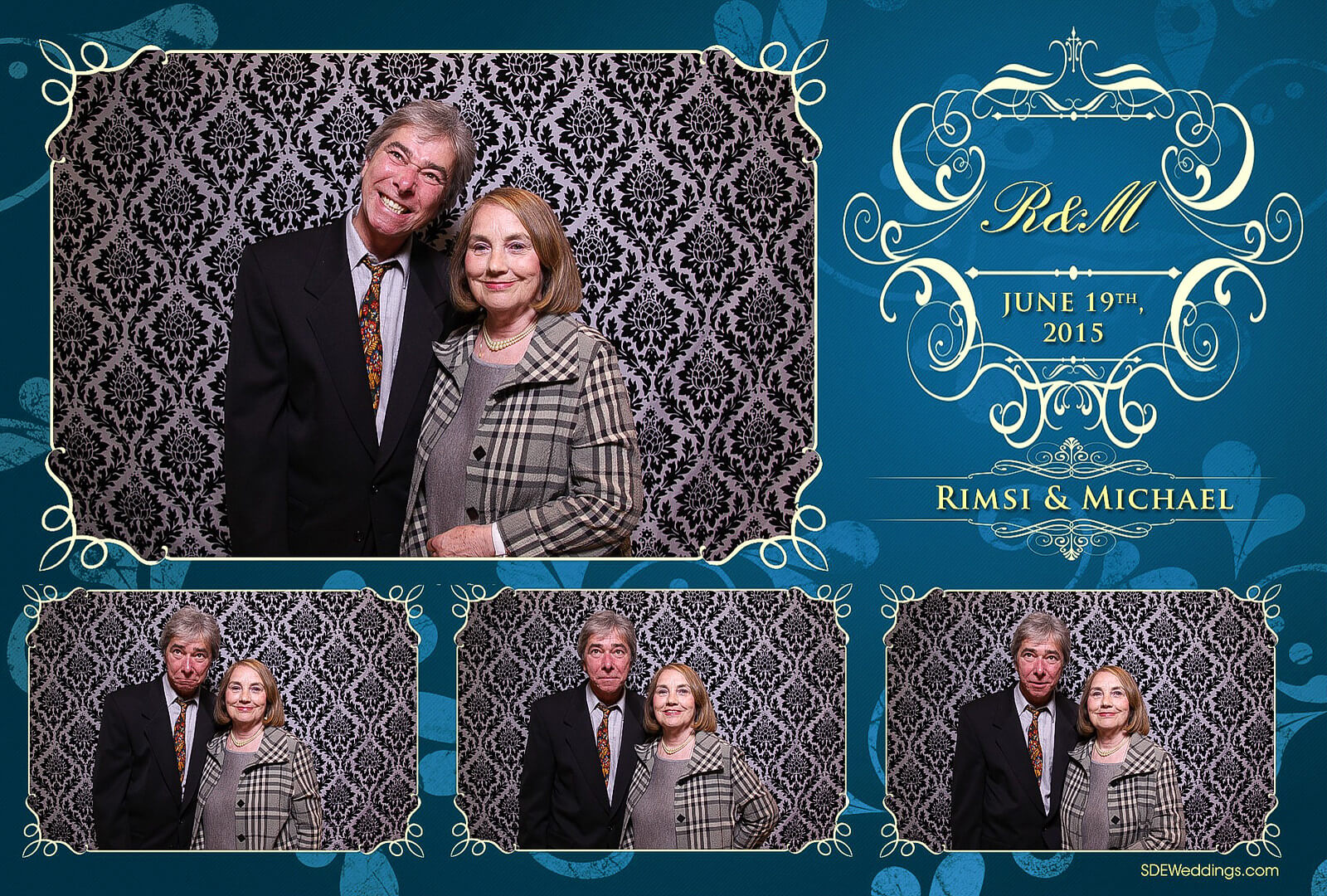 Toronto Italian Borgata Wedding Photo Booth Rental 7