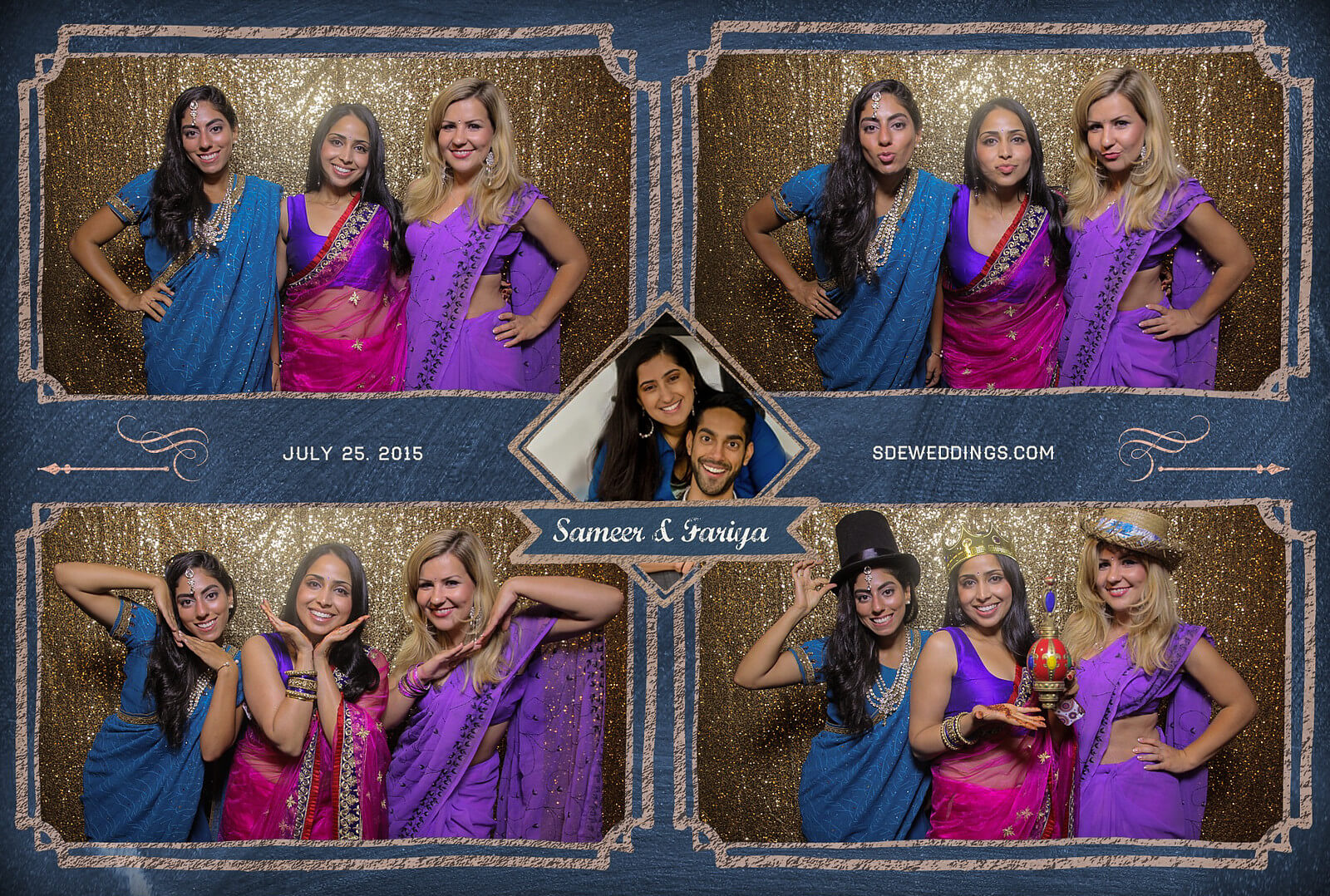Toronto Hilton Downtown Wedding Photobooth Rental 1