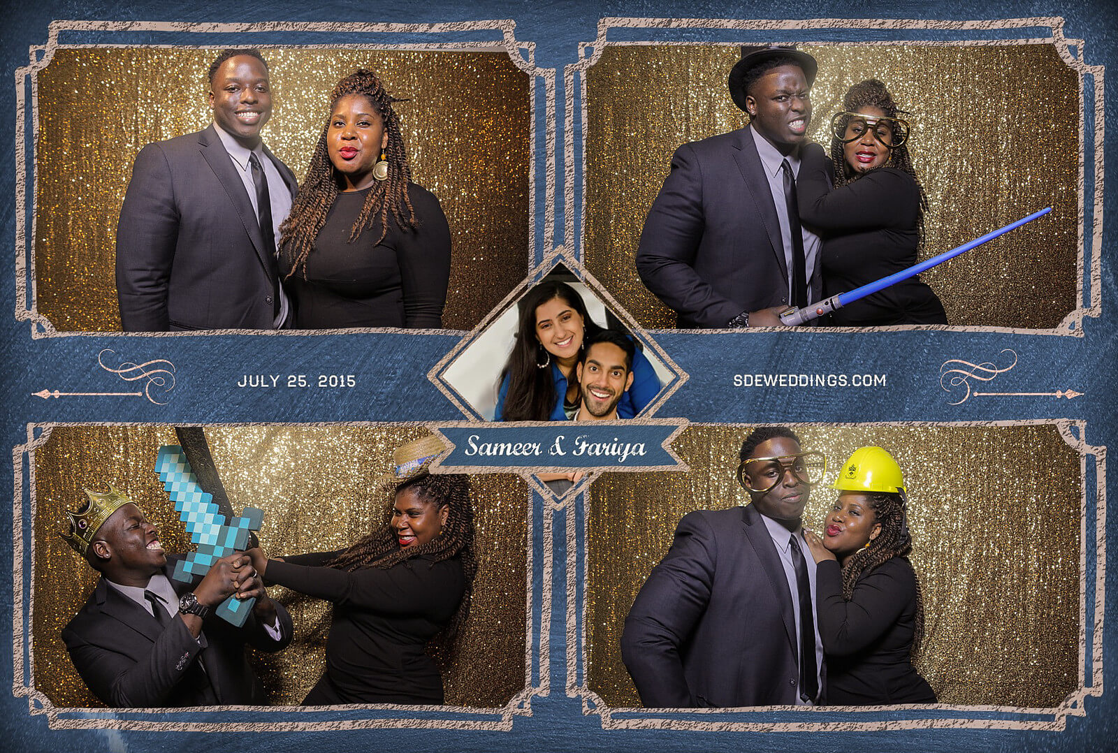 Toronto Hilton Downtown Wedding Photobooth Rental 11