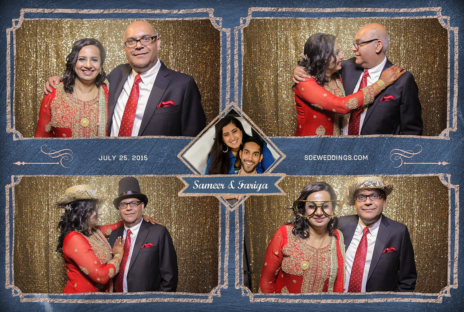 Toronto Hilton Downtown Wedding Photobooth Rental 12