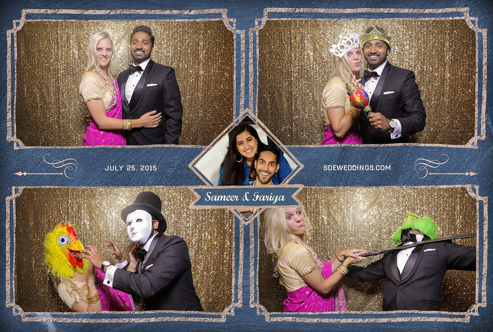 Toronto Hilton Downtown Wedding Photobooth Rental 2