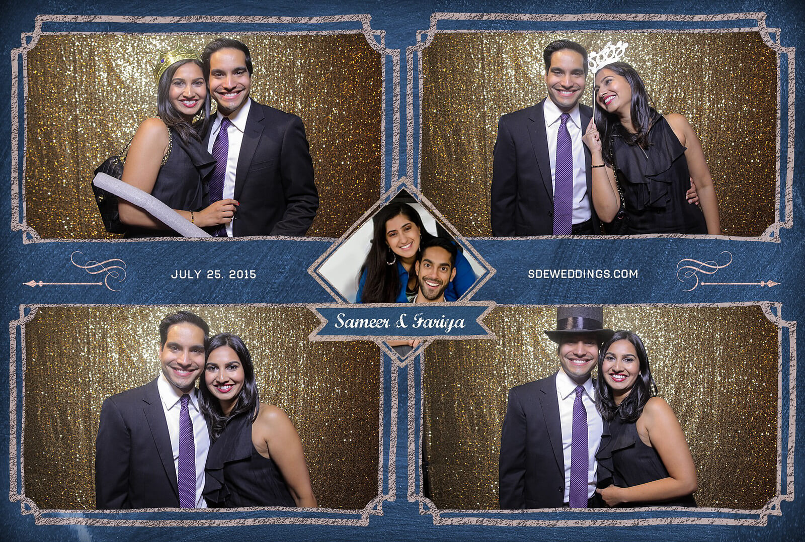 Toronto Hilton Downtown Wedding Photobooth Rental 8