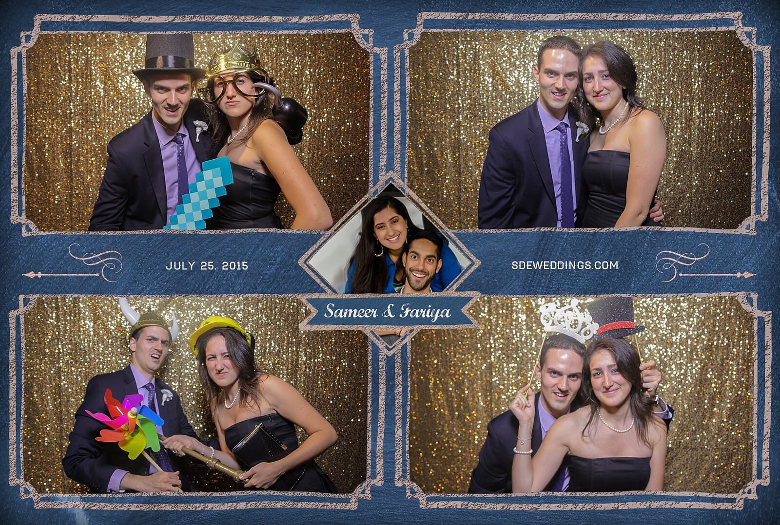 Toronto Hilton Downtown Wedding Photobooth Rental 9