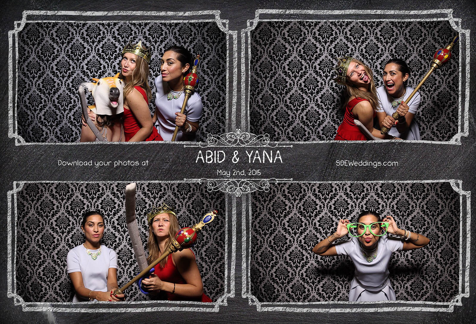 Toronto Graydon Hall Manor Wedding Photo Booth 10