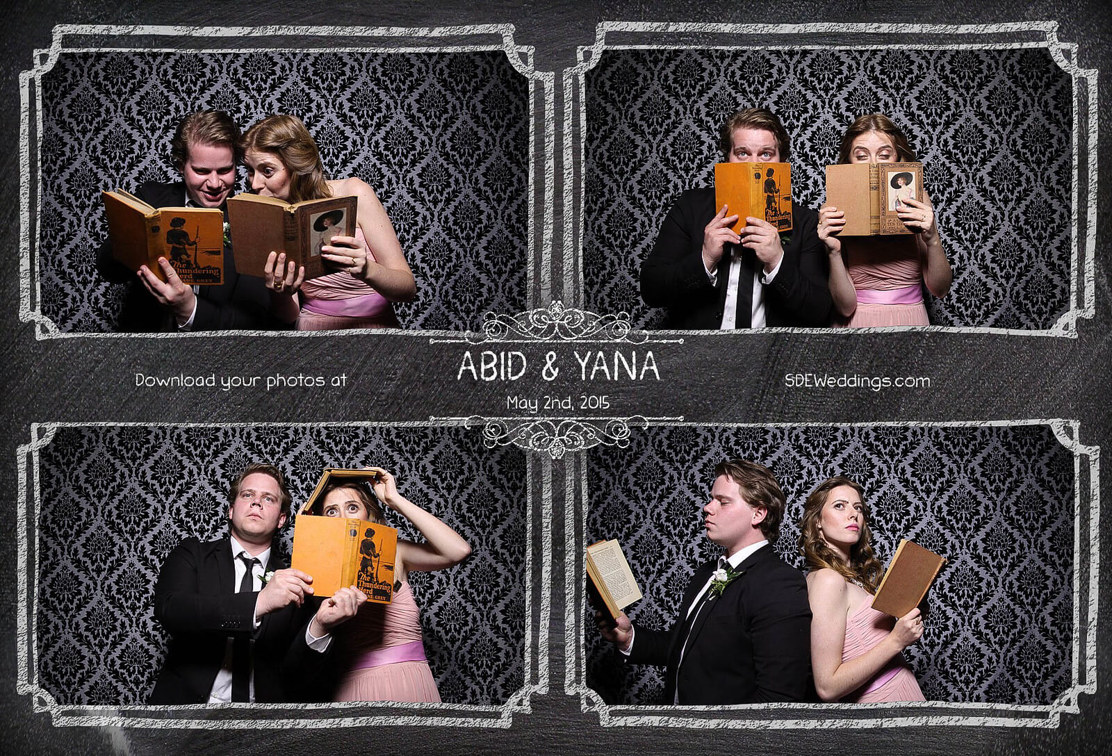 Toronto Graydon Hall Manor Wedding Photo Booth 2