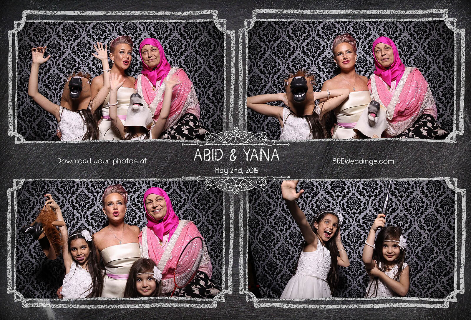 Toronto Graydon Hall Manor Wedding Photo Booth 3