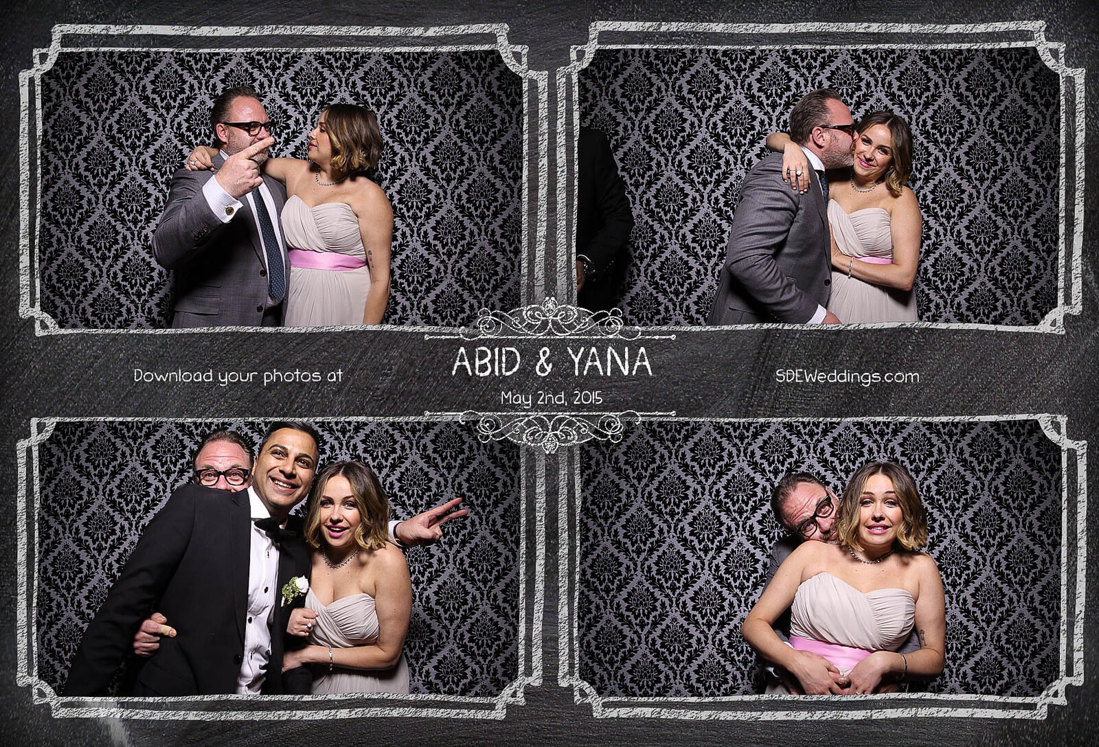 Toronto Graydon Hall Manor Wedding Photo Booth 5