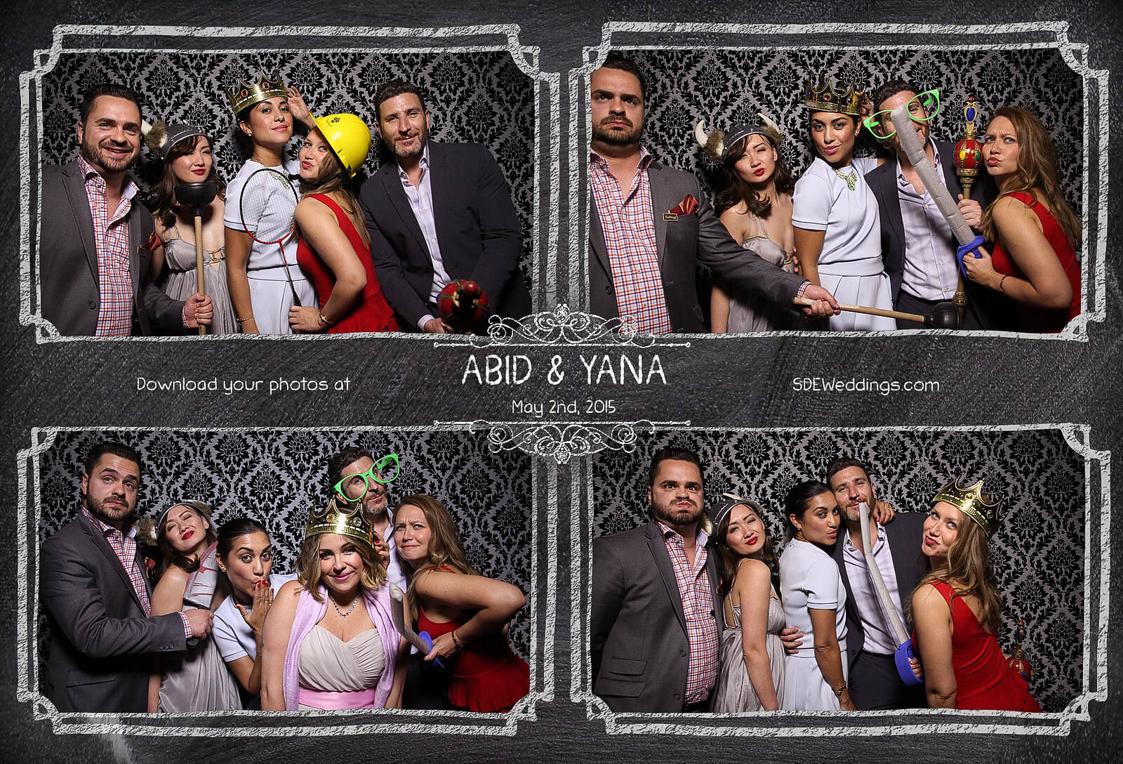Toronto Graydon Hall Manor Wedding Photo Booth 9