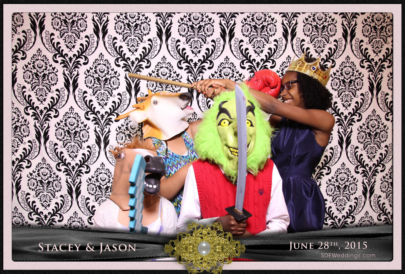 Toronto Mississauga Roma's Hospitality Centre Wedding Photobooth Rental 12