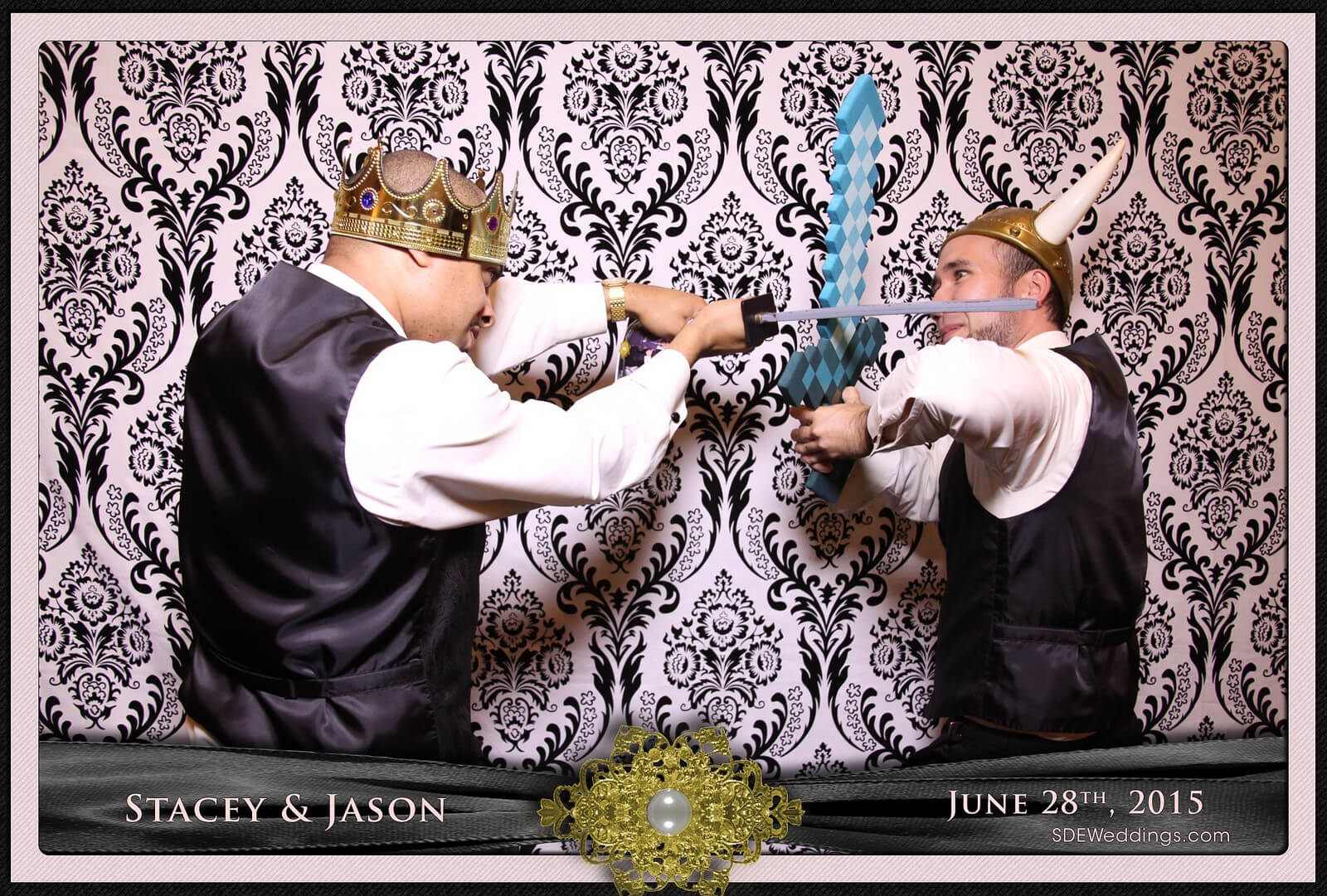 Toronto Mississauga Roma's Hospitality Centre Wedding Photobooth Rental 6