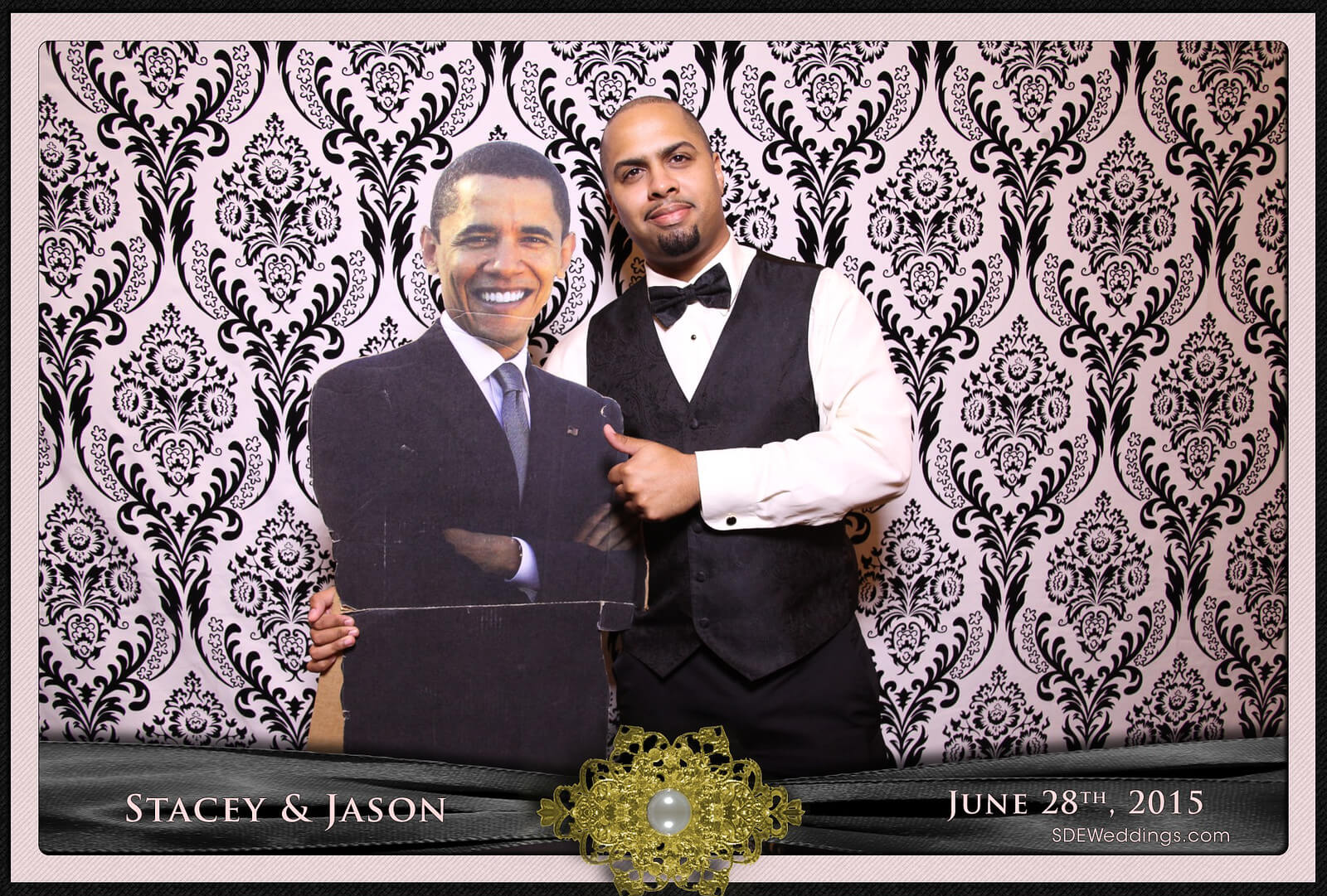Toronto Mississauga Roma's Hospitality Centre Wedding Photobooth Rental 7