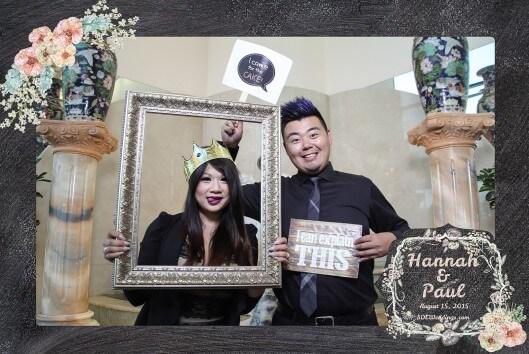 toronto photo booth rental single frame design 3
