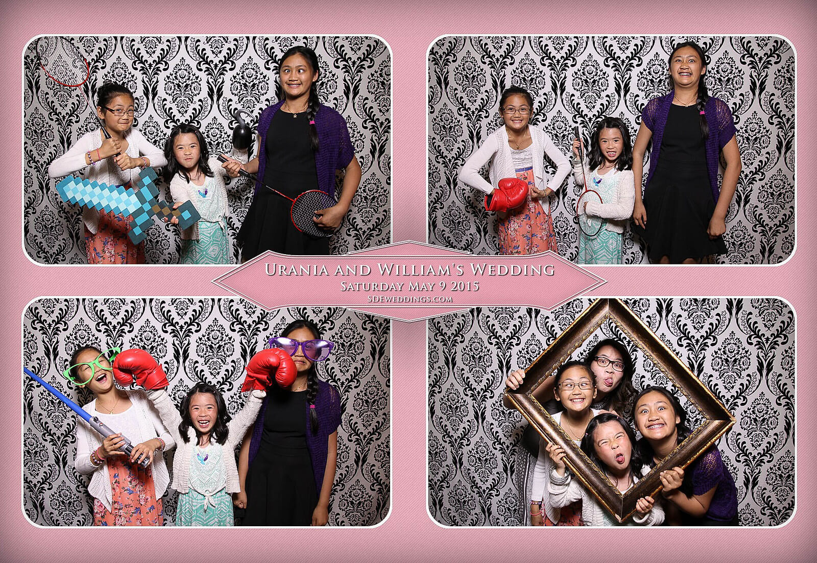 Markham Chinese Wedding Photo Booth 1