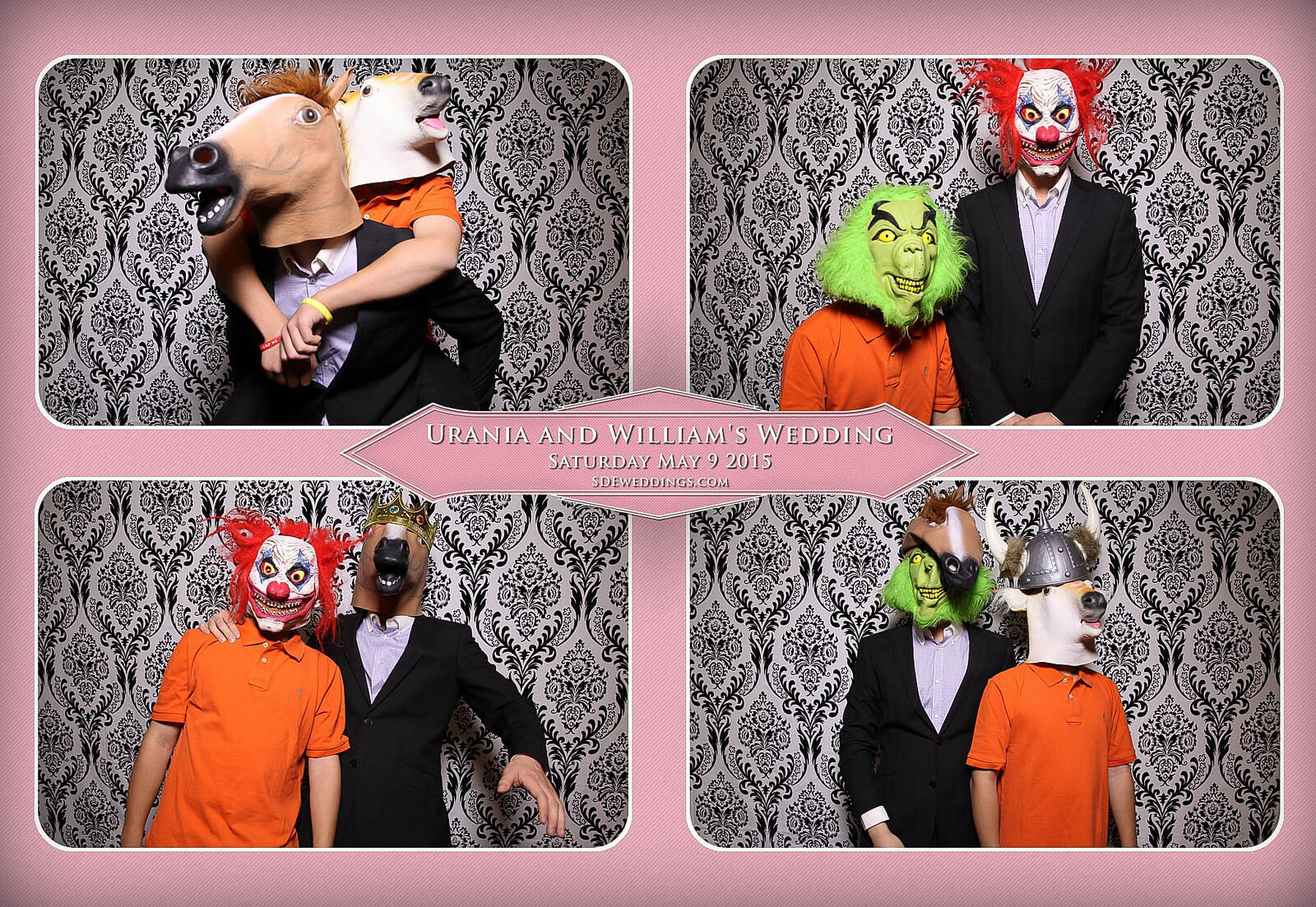 Markham Chinese Wedding Photo Booth 3