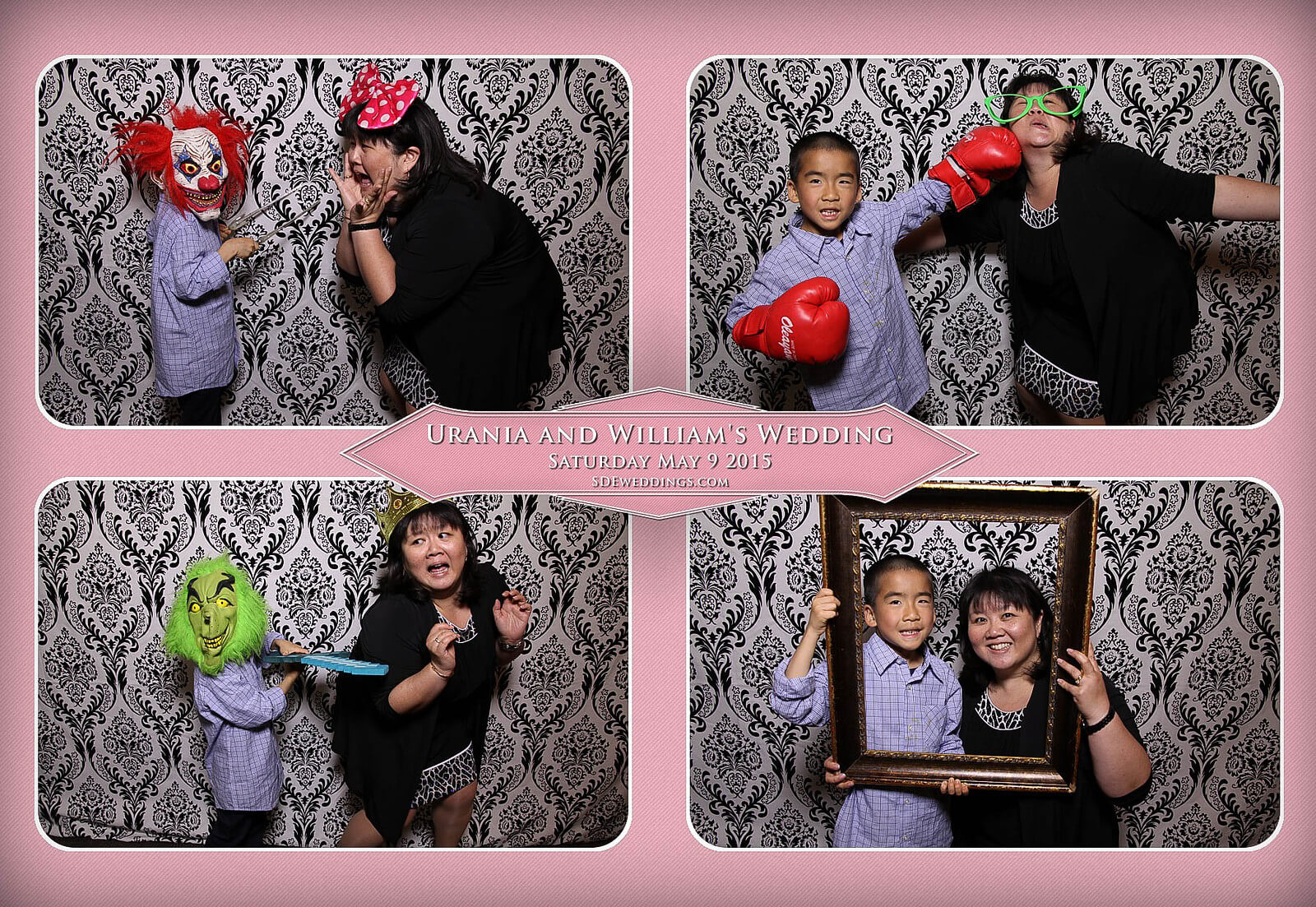 Markham Chinese Wedding Photo Booth 4