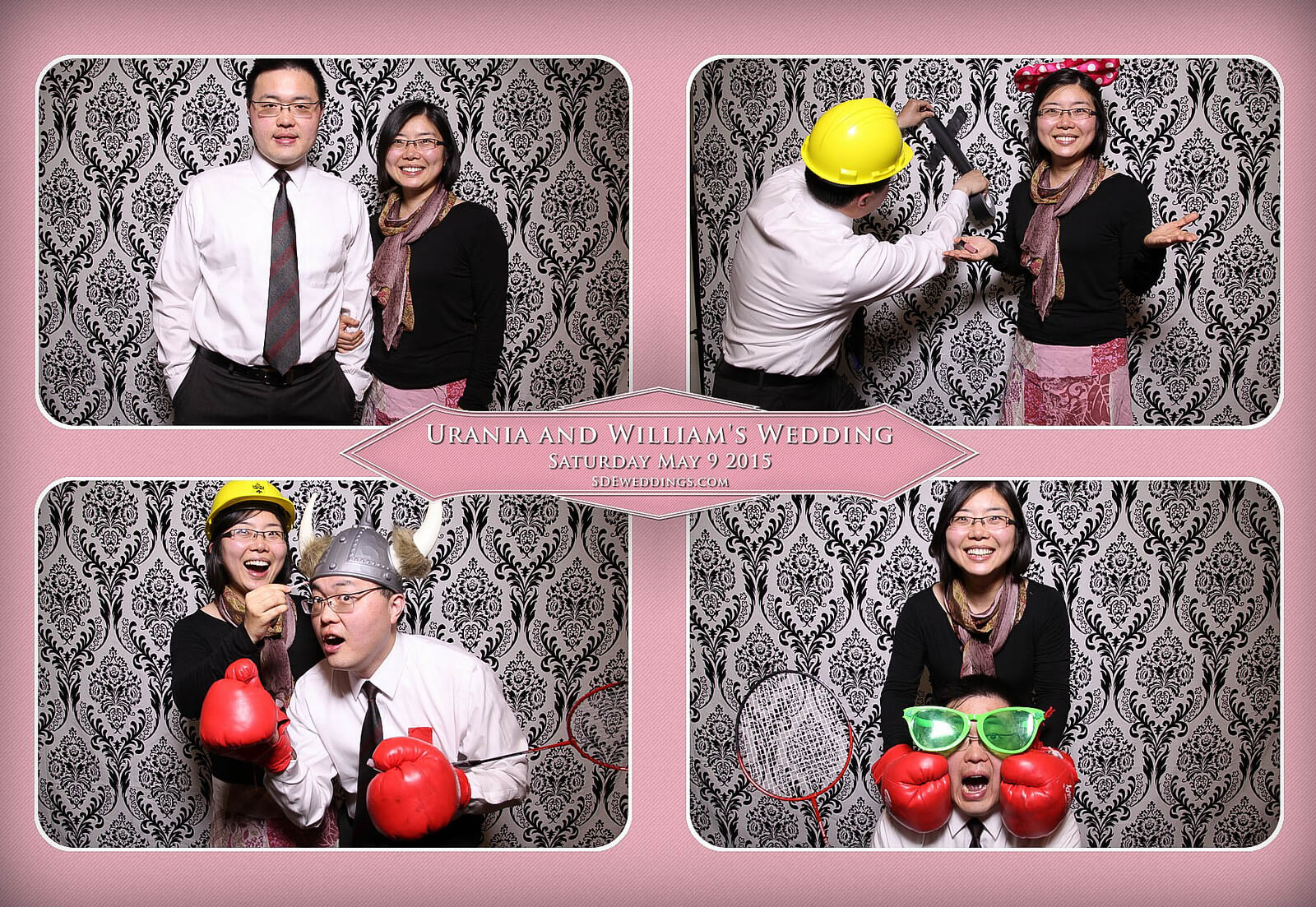Markham Chinese Wedding Photo Booth 5