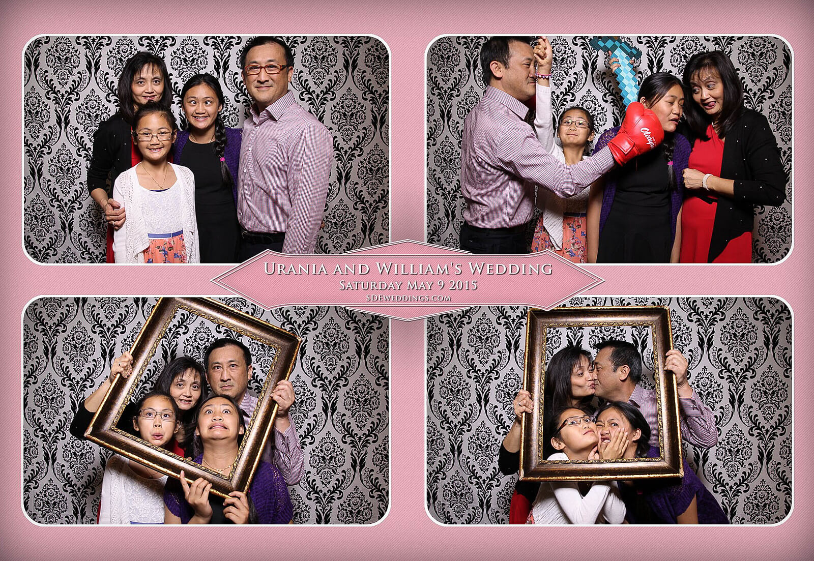 Markham Chinese Wedding Photo Booth 7