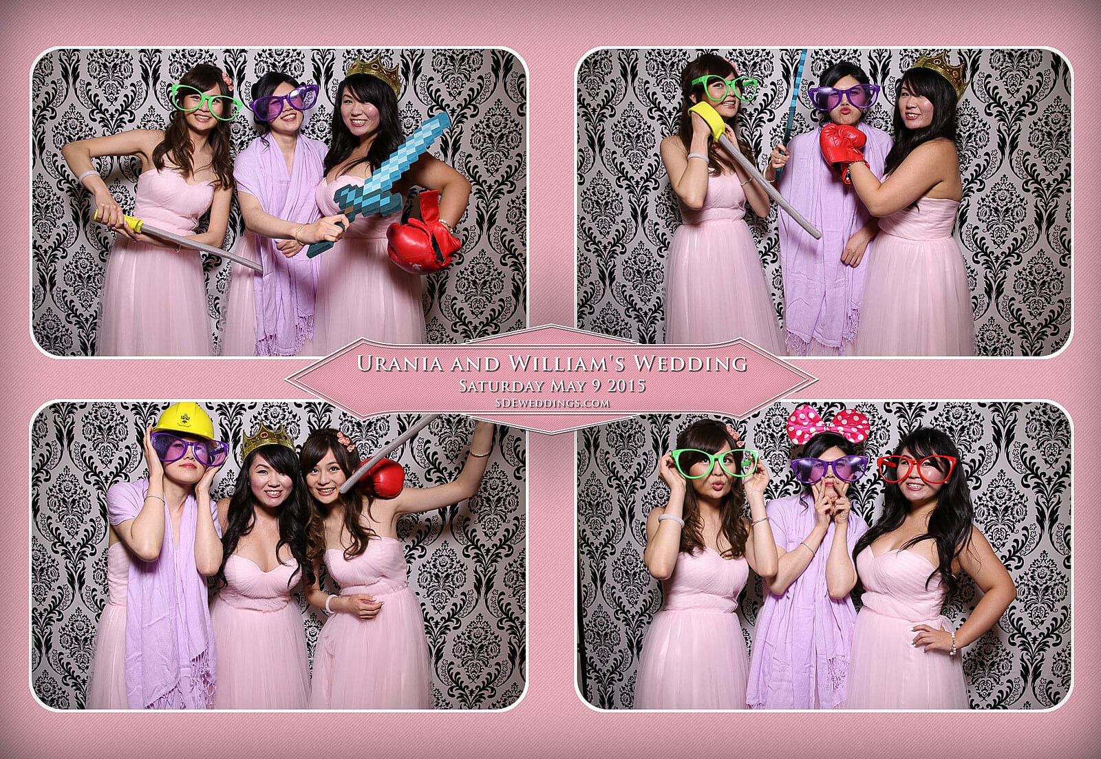 Markham Chinese Wedding Photo Booth 8