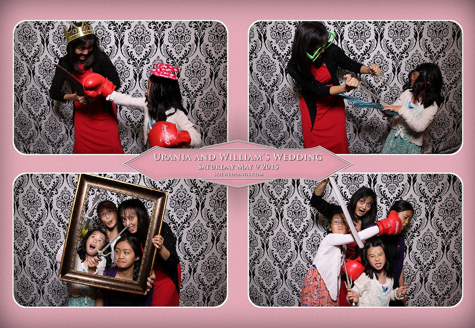 Markham Chinese Wedding Photo Booth 9