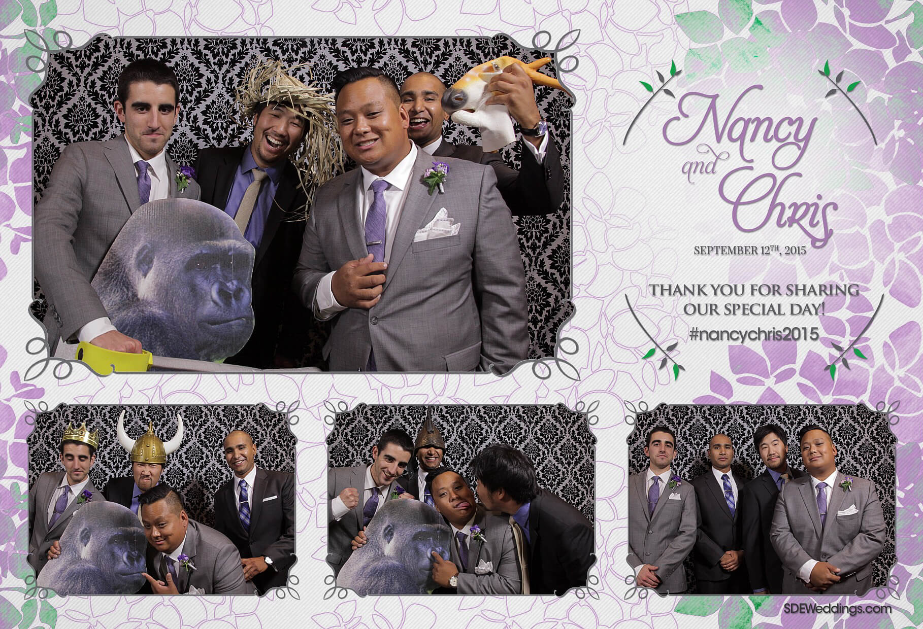 Toronto Social Media Photo Booth Rental at Hazelton Manor 1
