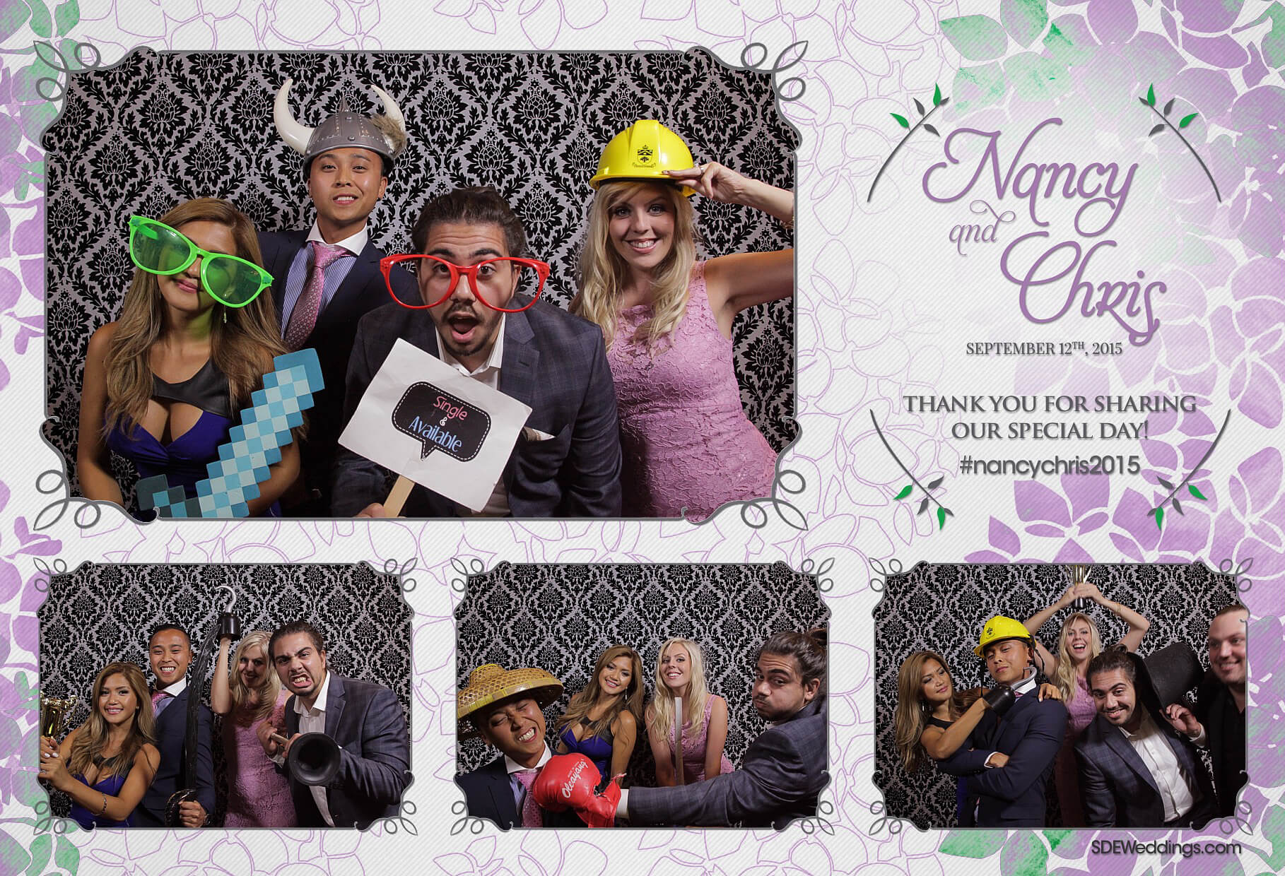 Toronto Social Media Photo Booth Rental at Hazelton Manor 7